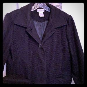 Worthington Ladies 3 Button Coat Size 10